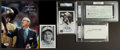 Miscellaneous Collectibles:General, Misc. Sports Stars Signed Memorabilia Lot of 5....