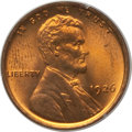 Lincoln Cents: , 1926 1C MS66 Red PCGS. PCGS Population (473/84). NGC Census:(208/24). Mintage: 157,088,000. Numismedia Wsl. Price for prob...