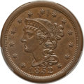 Large Cents: , 1852 1C MS64 Brown PCGS. CAC. PCGS Population (162/99). NGC Census:(193/226). Mintage: 5,063,094. Numismedia Wsl. Price fo...
