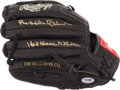 """Baseball Collectibles:Others, Brooks Robinson """"16x Gold Gloves"""" Signed Glove. ..."""