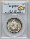 Commemorative Silver, 1935-D 50C Texas MS67+ PCGS. Gold CAC. PCGS Population (201/4). NGCCensus: (162/3). Mintage: 10,007. Numismedia Wsl. Price...