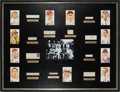 Autographs:Others, 1939 Inaugural Hall of Fame Class Signed Display....