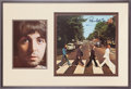 Music Memorabilia:Autographs and Signed Items, Beatles Paul McCartney Autographed Abbey Road Display.. ...