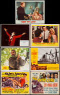 """Movie Posters:Comedy, Skirts Ahoy! & Others Lot (MGM, 1952). Title Lobby Cards (2)& Lobby Cards (5) (11"""" X 14""""). Comedy.. ... (Total: 7 Items)"""