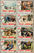 "Movie Posters:Western, Bullet for a Badman (Universal, 1964). Lobby Card Set of 8 (11"" X14""). Western.. ... (Total: 8 Items)"