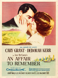 """An Affair to Remember (20th Century Fox, 1957). Poster (30"""" X 40"""") Style Z"""