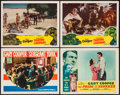 "Movie Posters:Miscellaneous, Gary Cooper Lot (Various, 1940s-1950s). Title Lobby Cards (4) & Lobby Cards (6) (11"" X 14""). Miscellaneous.. ... (Total: 10 Items)"