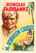 """Movie Posters:Comedy, Mr. Robinson Crusoe (United Artists, 1932). One Sheet (27"""" X 41"""")....."""
