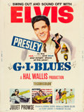 """Movie Posters:Elvis Presley, G.I. Blues (Paramount, 1960). Poster (30"""" X 40"""").. ..."""