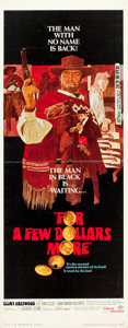 """Movie Posters:Western, For a Few Dollars More (United Artists, 1967). Insert (14"""" X 36"""").. ..."""