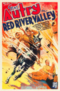 "Movie Posters:Western, Red River Valley (Republic, 1936). One Sheet (27"" X 41"").. ..."