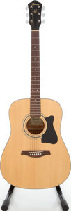 Musical Instruments:Acoustic Guitars, 2004 Ibanez V50MJP-NT Natural Acoustic Guitar, Serial # J040906505....
