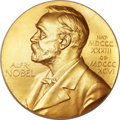 Miscellaneous:Ephemera, Francis H. C. Crick Nobel Prize Medal and Nobel Diploma.... (Total: 2 Items)