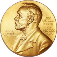 Francis H. C. Crick Nobel Prize Medal and Nobel Diploma