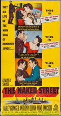 """Movie Posters:Crime, The Naked Street & Others Lot (United Artists, 1955). ThreeSheets (10) (41"""" X 75""""). Crime.. ... (Total: 10 Items)"""