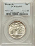 Commemorative Silver: , 1935 50C Connecticut MS66 PCGS. PCGS Population (482/50). NGCCensus: (459/61). Mintage: 25,018. Numismedia Wsl. Price for ...