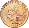 Indian Eagles, 1932 $10 MS65 NGC....