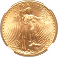 Saint-Gaudens Double Eagles, 1923-D $20 MS66 NGC. CAC....