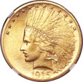 Indian Eagles, 1915 $10 MS64+ NGC....