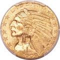 Indian Half Eagles, 1909 $5 MS64 PCGS....