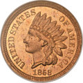 Patterns, 1858 P1C Indian Cent, Judd-208, Pollock-259, R.1, PR65 NGC....