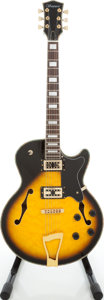 Musical Instruments:Electric Guitars, 2000s Ventura L-5 Sunburst Archtop Electric Guitar....