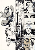Original Comic Art:Panel Pages, Frank Miller and Klaus Janson Daredevil #190 Daredevil andStone vs. The Hand Page 31 Original Art (Marvel, 1983)....
