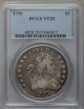 Early Dollars, 1799 $1 7x6 Stars VF20 PCGS. B-16, BB-158, R.2....