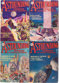 Pulps:Science Fiction, Astounding Stories Group (Street & Smith, 1930) Condition:Average VG/FN.... (Total: 10 Items)