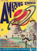 Pulps:Science Fiction, Amazing Stories V1#1 (Ziff-Davis, 1926) Condition: VG+....