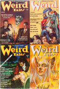 Pulps:Horror, Weird Tales Group (Popular Fiction, 1939) Condition: Average VG.... (Total: 8 Items)