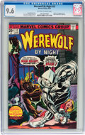 Bronze Age (1970-1979):Horror, Werewolf by Night #32 (Marvel, 1975) CGC NM+ 9.6 Off-white to whitepages....