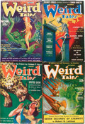 Pulps:Horror, Weird Tales Group (Popular Fiction, 1940-41) Condition: Average VG.... (Total: 10 Items)