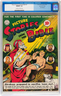 Golden Age (1938-1955):Religious, Picture Stories from the Bible Old Testament #3 Gaines Filepedigree (DC, 1943) CGC NM/MT 9.8 Off-white to white pages....