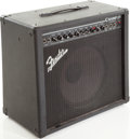 Musical Instruments:Amplifiers, PA, & Effects, 2001 Fender Champ 25 Black Guitar Amplifier, Serial # LO-352356....