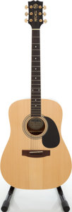 Musical Instruments:Acoustic Guitars, 1990s Mitchell MD-100S Natural Acoustic Guitar....