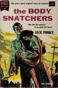 Books:Science Fiction & Fantasy, Jack Finney. The Body Snatchers. Dell, 1955. First edition, first printing. Publisher's illustrated wrappers. A mode...