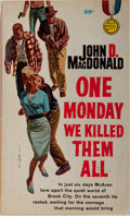 Books:Mystery & Detective Fiction, John D. MacDonald. One Monday We Killed Them All. Gold Medal, 1961. First edition, first printing. Publisher's illus...