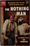 Books:Mystery & Detective Fiction, Jim Thompson. The Nothing Man. Dell, 1954. First edition,first printing. Publisher's illustrated wrappers. Mild rub...