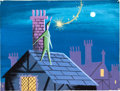 Animation Art:Concept Art, Mary Blair Peter Pan Concept Sketch (Walt Disney, 1953)....