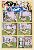 Memorabilia:MAD, Mad Spy vs. Spy White Castle Promotional Poster (Mad/White Castle,2006)....