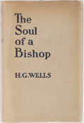Books:Literature 1900-up, H. G. Wells. The Soul of a Bishop. Cassell, 1917. Firstedition, first printing. Mild rubbing and bumping to boards....