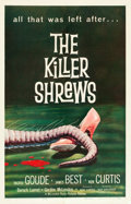 "Movie Posters:Science Fiction, The Killer Shrews (McLendon Radio Pictures, 1959). One Sheet (27"" X41"").. ..."