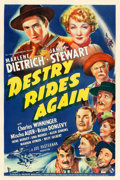 "Movie Posters:Western, Destry Rides Again (Universal, 1939). One Sheet (27"" X 41"") StyleA.. ..."