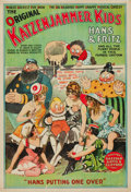 "Movie Posters:Comedy, The Katzenjammer Kids (circa 1918). Stage Play Poster (27.75"" X42"").. ..."