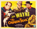 "Movie Posters:Western, The Oregon Trail (Republic, 1936). Half Sheet (22"" X 28"").. ..."