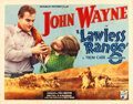 "Movie Posters:Western, Lawless Range (Republic, 1935). Half Sheet (22"" X 28"").. ..."