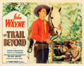 "Movie Posters:Western, The Trail Beyond (Monogram, 1934). Half Sheet (22"" X 28"").. ..."