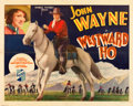 "Movie Posters:Western, Westward Ho (Republic, 1935). Half Sheet (22"" X 28"").. ..."