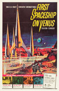 "Movie Posters:Science Fiction, First Spaceship on Venus (Crown International, 1962). One Sheet(27"" X 41"").. ..."